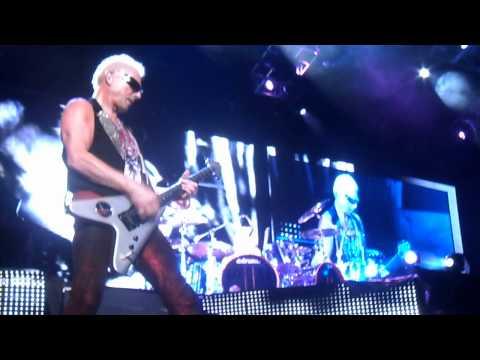 Scorpions - Rhythm of Love (LIVE in Mexico 2012 Arena Ciudad de México)