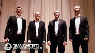 Tilaa kvartetti osoitteesta www.kyl.fi - Kauppakorkeakoulun Ylioppilaskunnan Laulajat KYL