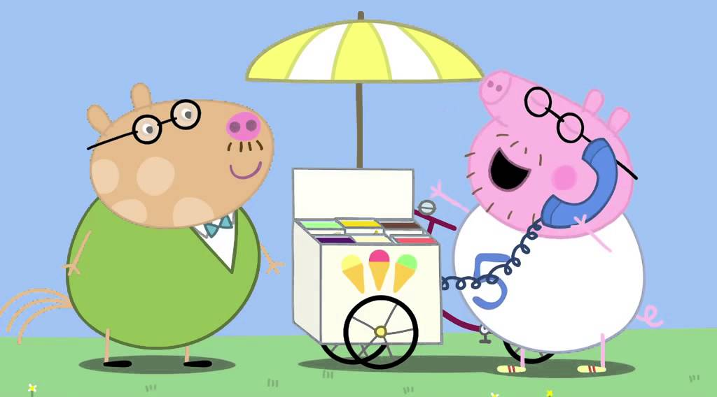 粉紅豬小妹 小豬佩琪第135集 兔小姐請假