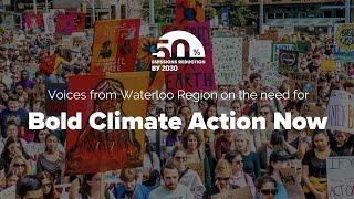 Supporters of 50by30 on moving to a safe climate future