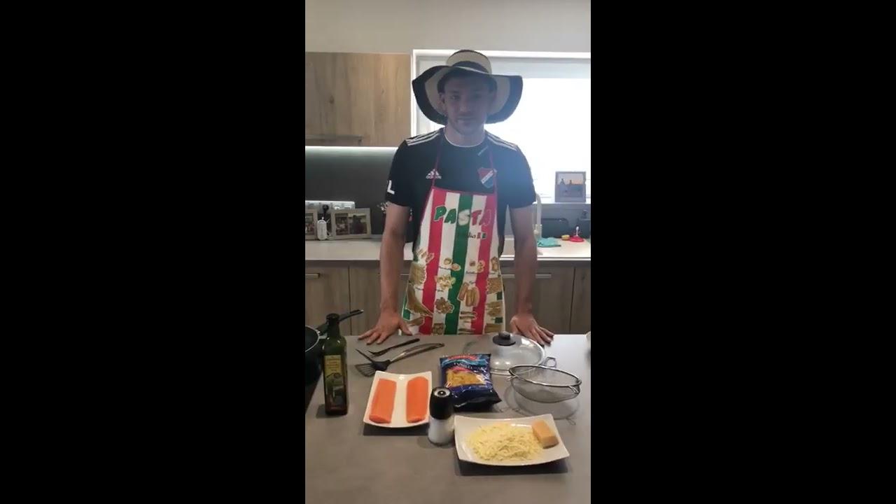 #varimesbanikem  |  losos a těstoviny ? la Patrizio Stronati