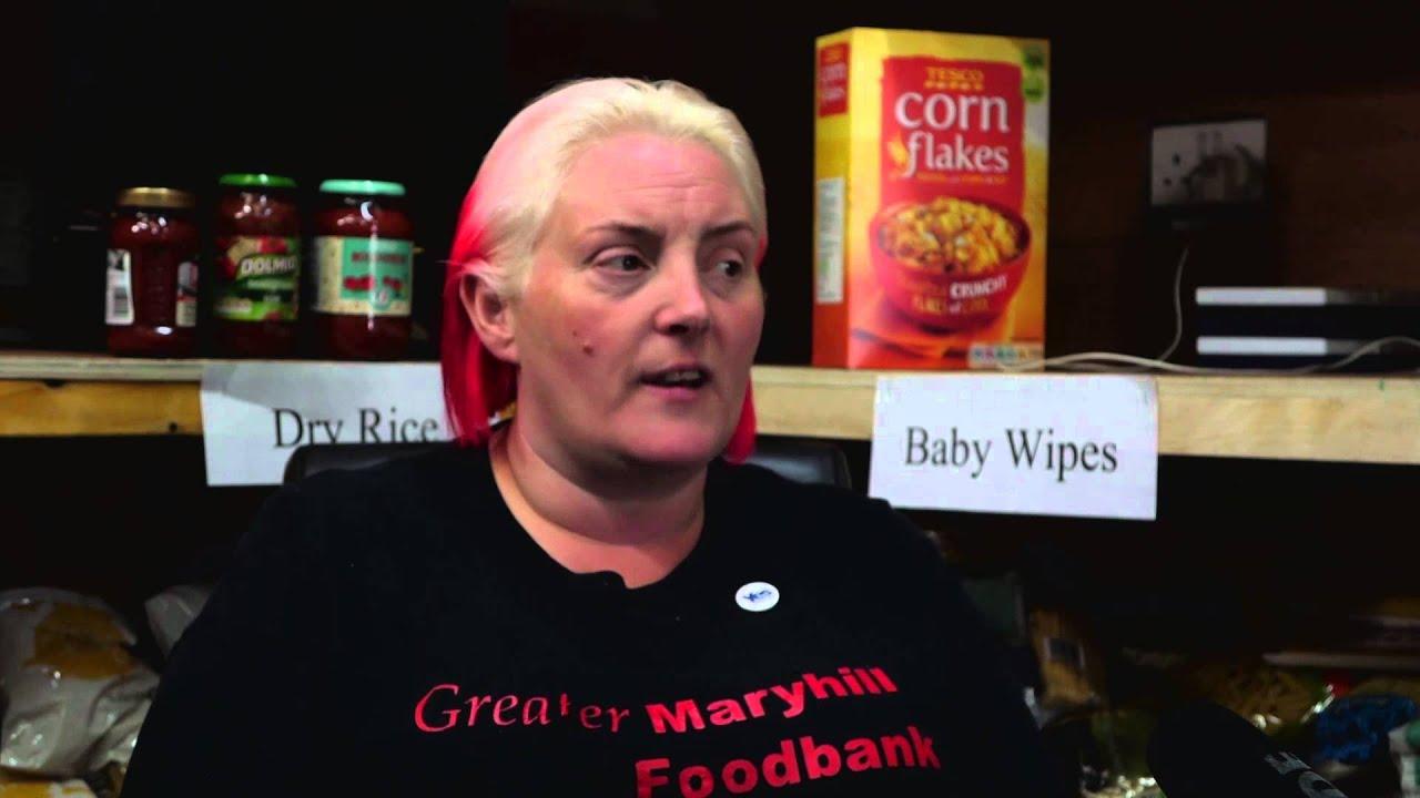 Julie Webster Maryhill Food Bank