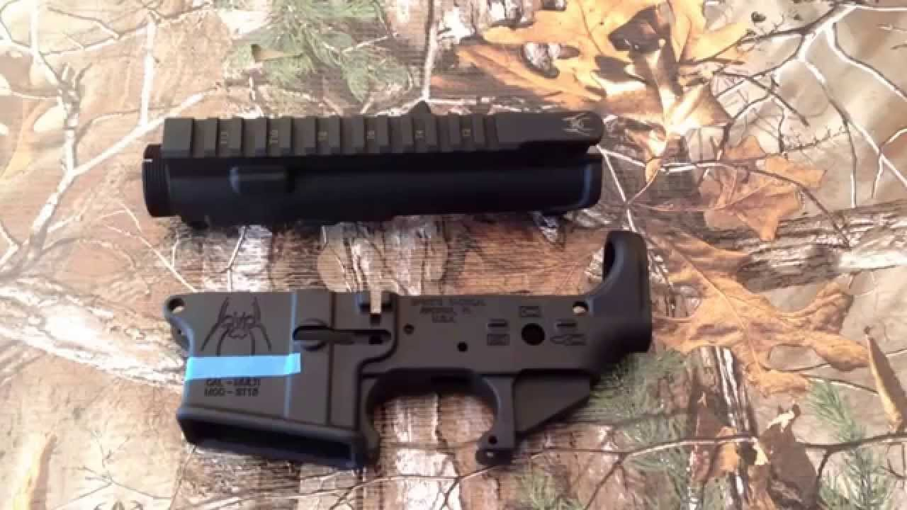 """AR-15 Build: Spikes tactical stripped lower and """"slick ..."""