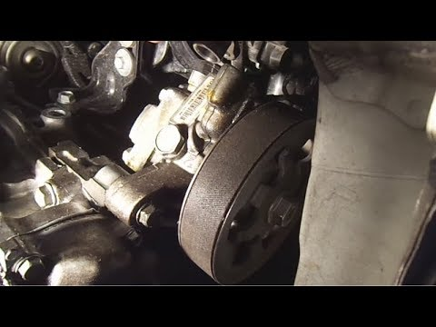 2008 honda civic cheap fix for leaky (noisy) power steering pump