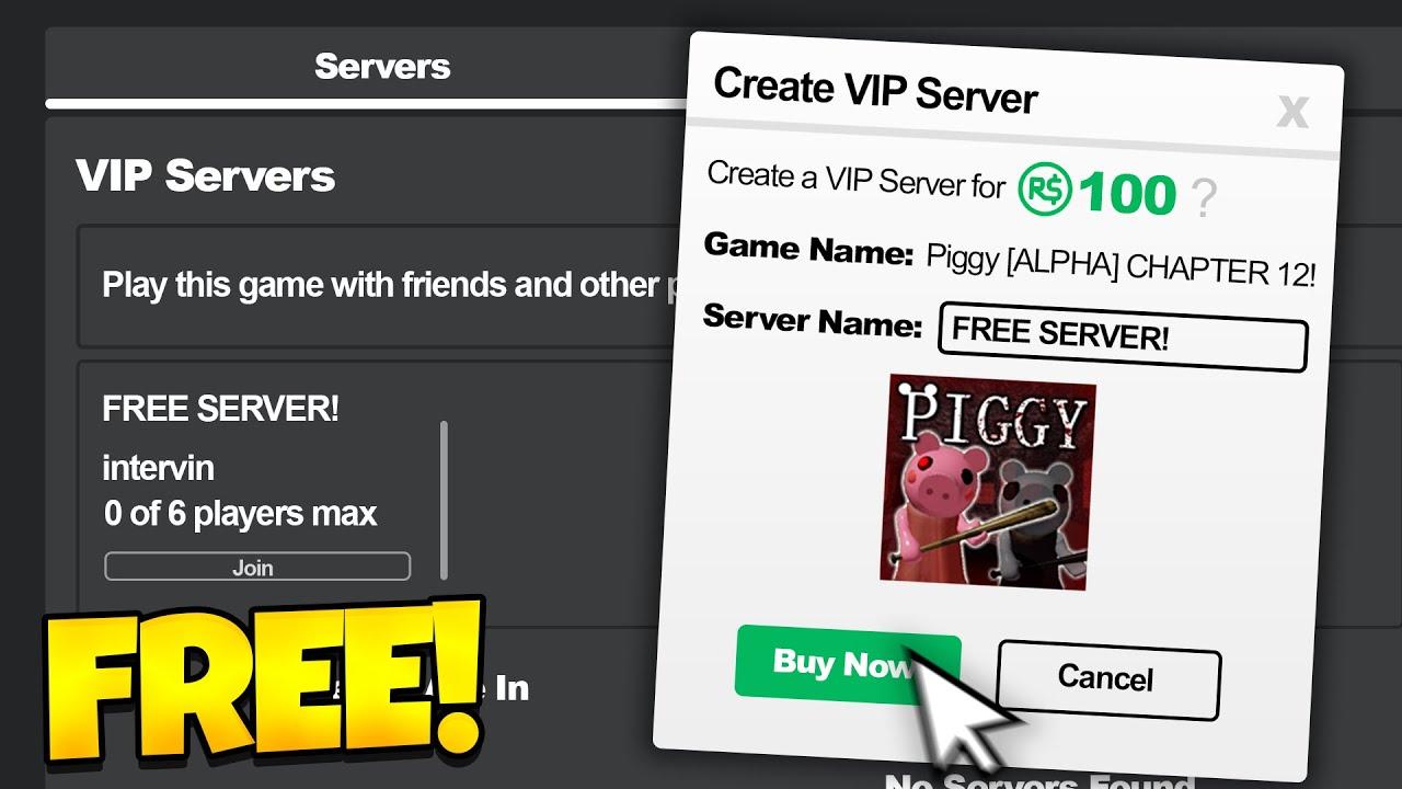 Roblox Piggy Free Vip Servers 2020 Youtube