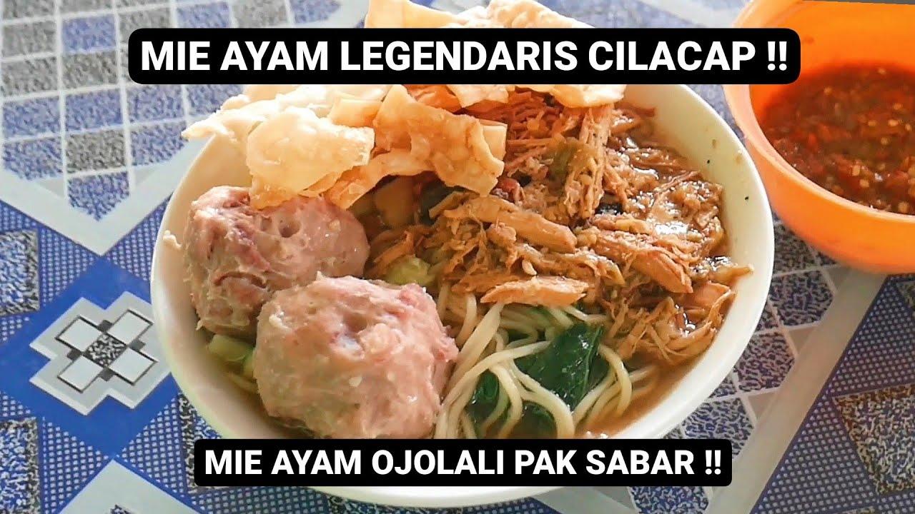 Mie Ayam Legendaris Cilacap Pak Sabar Spesial Pake Bakso Urat Kuliner Cilacap