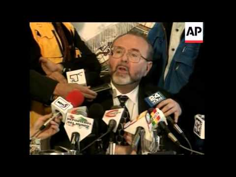 COLOMBIA: CONGRESSIONAL COMMISSION VOTE TO CENSURE US AMBASSADOR