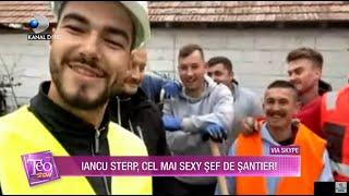 Teo Show (18.11.) - Iancu Sterp, cel mai sexy sef de santier! Ion Smecherul se va muta in casa noua!