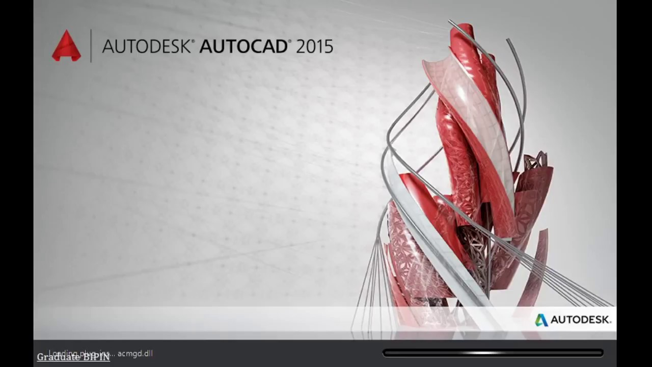 AutoCAD 2015 license setup || free 3 year license