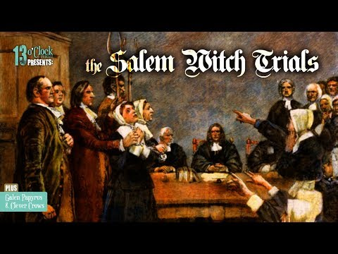 Episode 105 - The Salem Witch Trials, Wandering Wombs, and Clever Corvids
