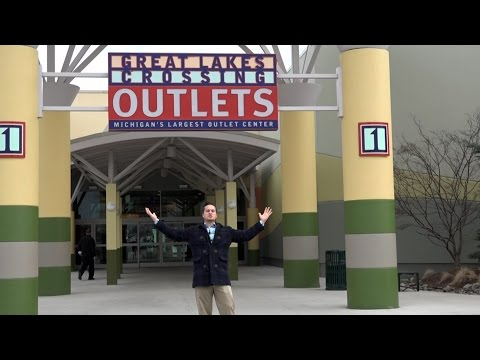 Inside Auburn Hills: Great Lakes Crossing Outlets