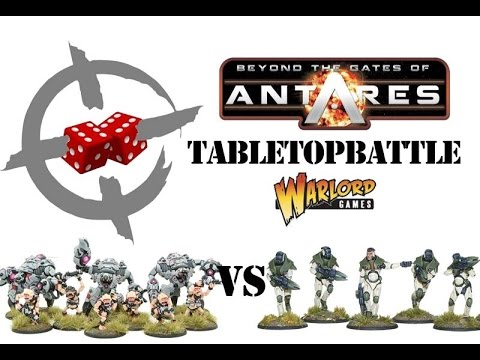 Gates of Antares battle report - Campaign 2: Battle 1. Ghar vs Concord 750pts