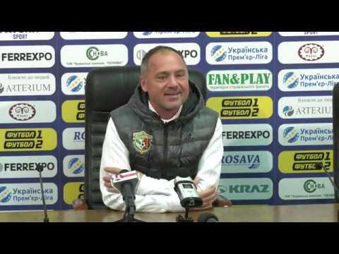 FC Vorskla: Віталій Косовський, в.о. головного тренера «Ворскли». «Ворскла» – «Десна» – 3:3
