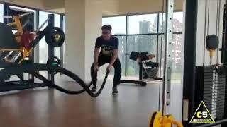 Kunal Kaw's workout at C5 Training Space #shorts