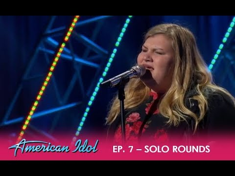 Maddie Zahm: Solo Round Performance In Hollywood Week   American Idol 2018