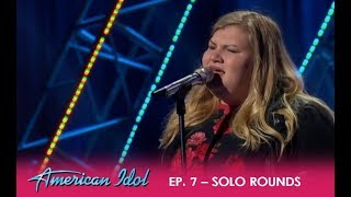 Maddie Zahm: Solo Round Performance In Hollywood Week | American Idol 2018