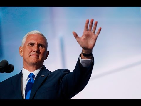Watch Vice Presidential nominee Mike Pence