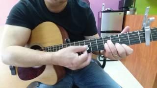 Hướng dẫn solo guitar bài; Vùng Lá Me Bay. By Ns . Tien Nguyen