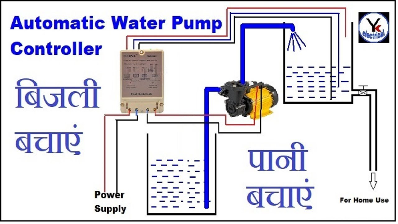 Automatic Water Level Controller Yk Electrical Youtube