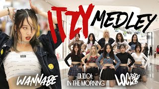 [KPOP IN PUBLIC] ITZY SPECIAL PJ 'WANNABE - 마.피.아. In the morning - LOCO' Dance Cover By The D.I.P