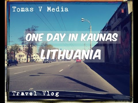 Travel Vlog:Day in Kaunas,LITHUANIA