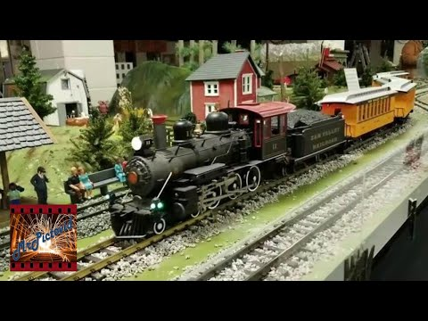 Big G Scale Trains At The Riverside Railroad Club