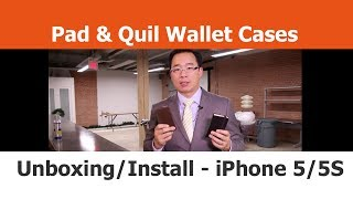 Pad & Quill Wallet Cases - Unboxing And Installation - Iphone Cases