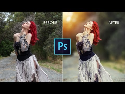 Photoshop cc Tutorial: How could i Edit My Photo in Creative way [Outdoor portrait edit]