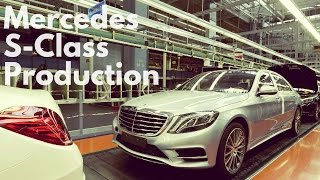 Mercedes-Benz S-Class Production
