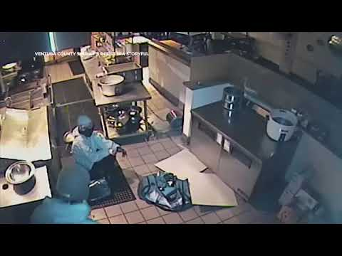Wake Up Call - Video: Thief Crashes Through Ceiling During Ojai Restaurant Burglary