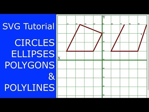 SVG Path Tutorial • Circles, Ellipses, Polygons, And Polylines
