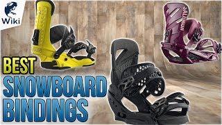 10 Best Snowboard Bindings 2018