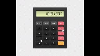 HTML| Sublime Text 3 | how to create the calculator by HTML only