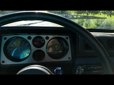 1986 Pontiac T1000 Cruising Along