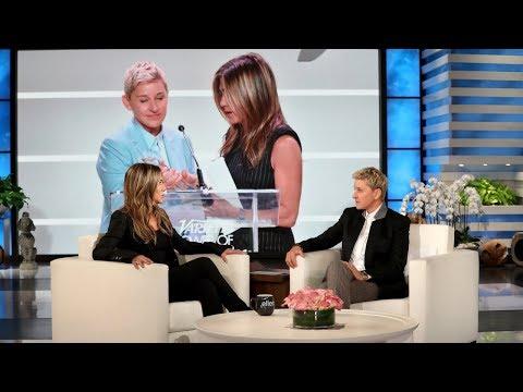 Ellen Grills Jennifer Aniston On Her 'Close Friend' Comments