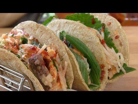 How To Make Korean Tacos! | Korean Mexican Fusion Recipe!