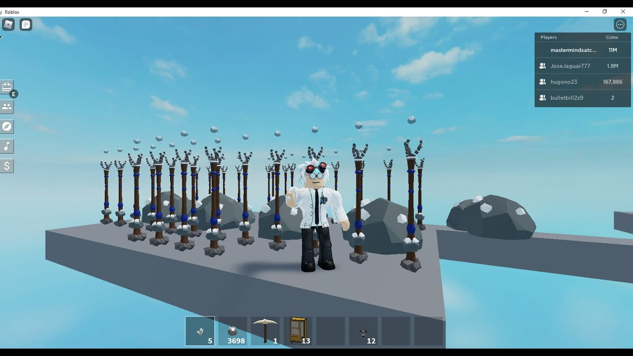 How To Get Crystallized Iron In Roblox Skyblock Fast