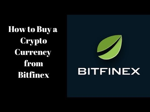 How To Buy Alt Crypto Currency From Bitfinex/ Bitfinex Tutorial