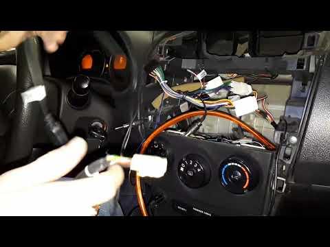Замена штатной магнитолы Corolla 2008 E150