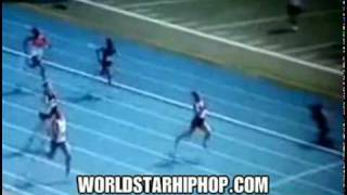 Epic Fail: Runner falls inches from the finish line