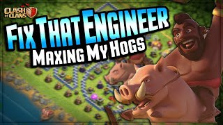 MAXING MY HOGS on Fix that Engineer