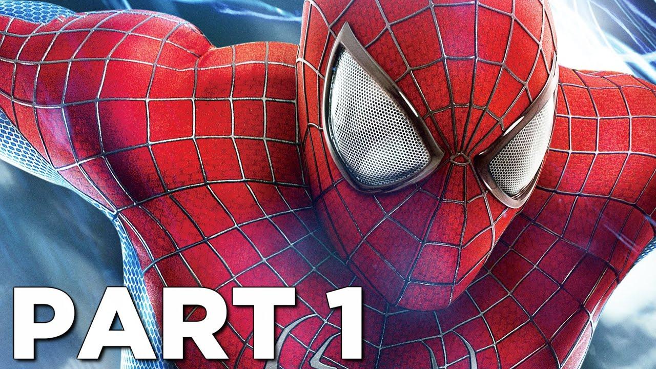 SPIDER-MAN REMASTERED PS5 Walkthrough Gameplay Part 1 - INTRO (Playstation 5)
