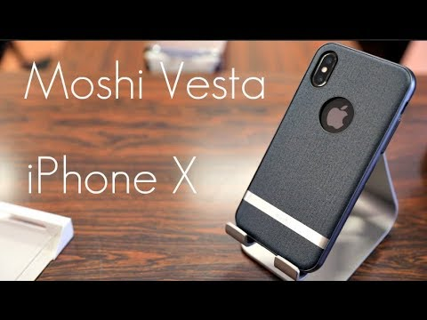 huge discount f51c4 8d3ff Match Your Suit with this Case! - Moshi Vesta Case - iPhone X - Hands on  Look!