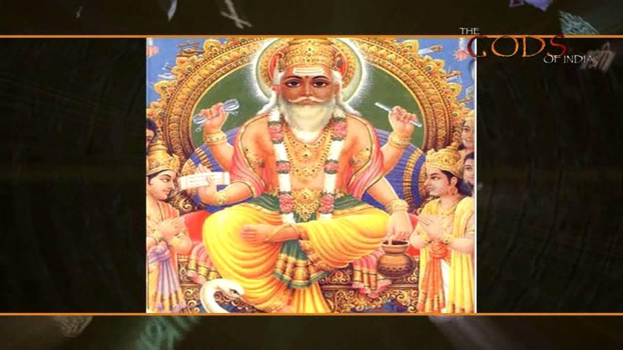 Lord Vishwakarma The Divine Craftsman Youtube