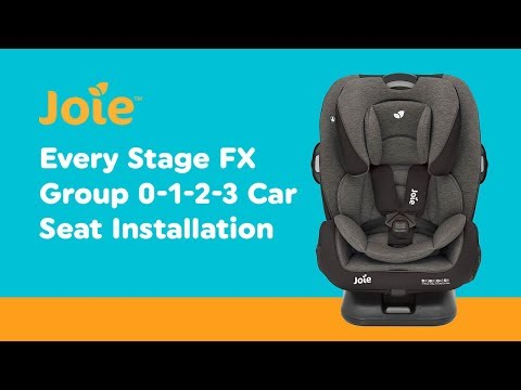 Installation Guide For Joie Every Stage FX Group 0-1-2-3 Car Seat | Smyths Toys