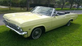 1965 Chevrolet  impala  ss convertible  for sale
