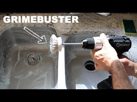 How to Clean a Kitchen Sink -- by Home Repair Tutor