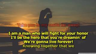 Glory Of Love - Peter Cetera (Karaoke) HD