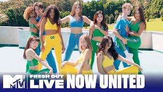 "Now United Performs ""Baila""   #MTVFreshOut"