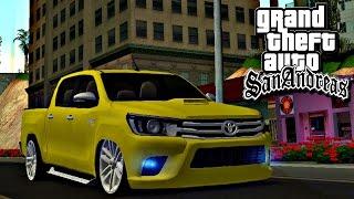 GTA San Andreas: MTA - Causando de hilux encontro de som automotivo